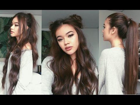 3 Concert Hairstyles | viviannnv