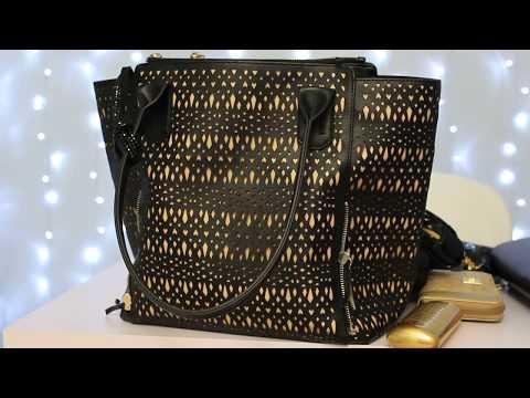 Handbag Organization Update- Stella & Dot Tote-What's in My Bag