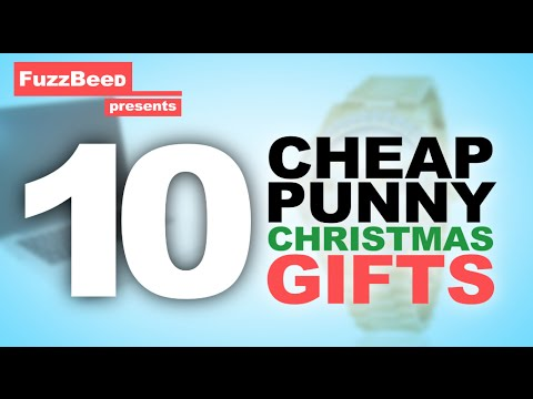 10 Cheap Punny Christmas Gifts