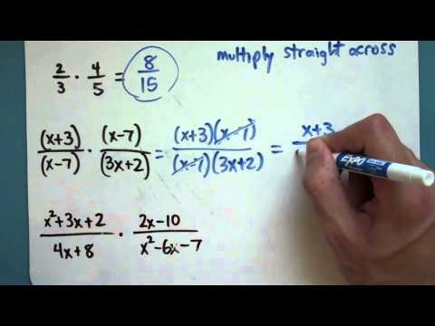 Multiplying Rational Expressions (9-3-2)