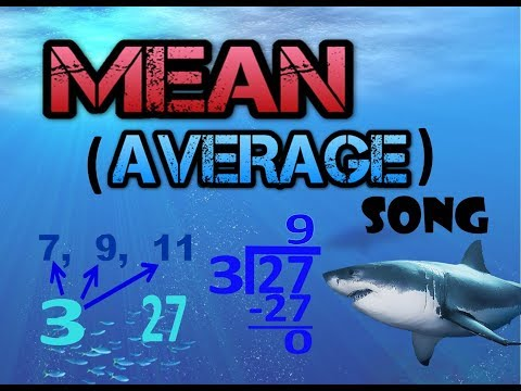 MEAN & AVERAGE SONG  by MR HEATH