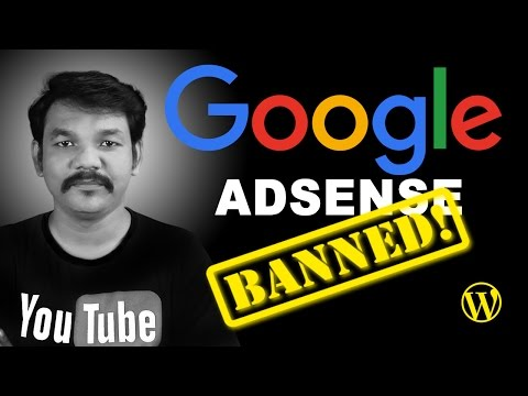 Google Adsense WordPress Plugin Banned
