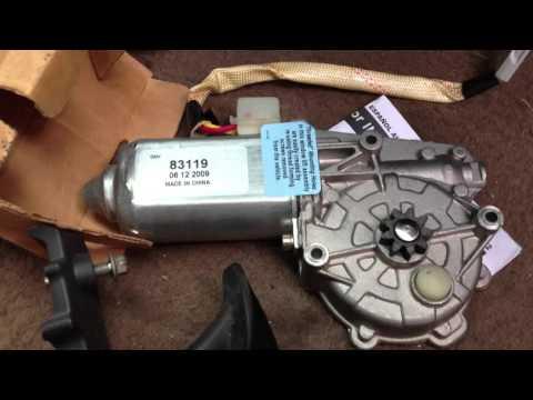 Change F150 Window Motor