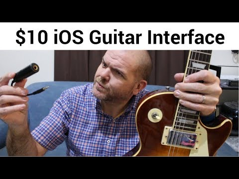 Cheap Guitar Interface for iOS (iPhone/iPad/GarageBand)