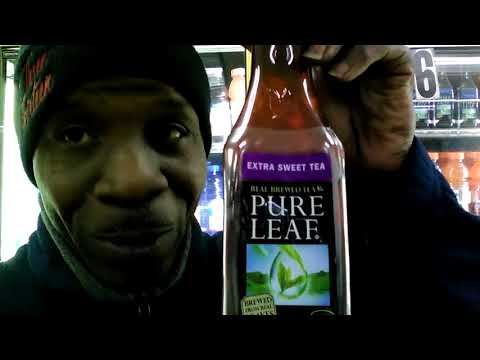 Pure Leaf Sweet Tea Beverage Review - Q food review's