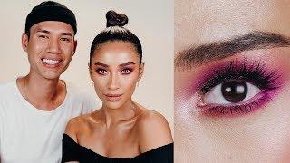 Desi Perkins Inspired Pink Eye Makeup Tutorial By Patrick Ta   Shay Mitchell