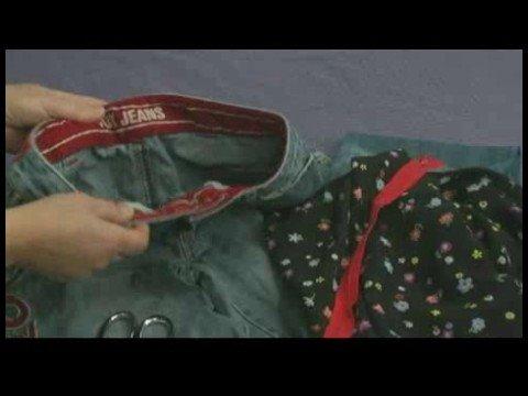 Making Handbags & Carryalls From Recycled Jeans : Make a Jeans Handbag: Materials