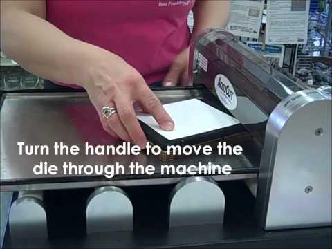 How-to: Use a Die Cut Machine