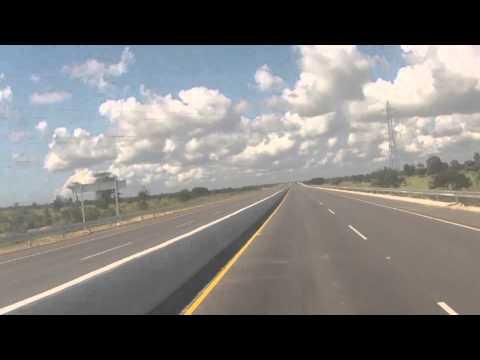 De Punta Cana a Santo Domingo en 4 Minutos.. (Nueva Autopista)