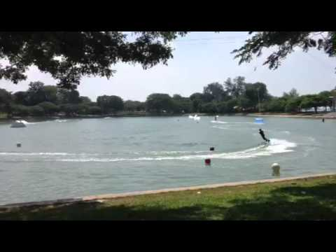 Kite surfing skate park Singapore