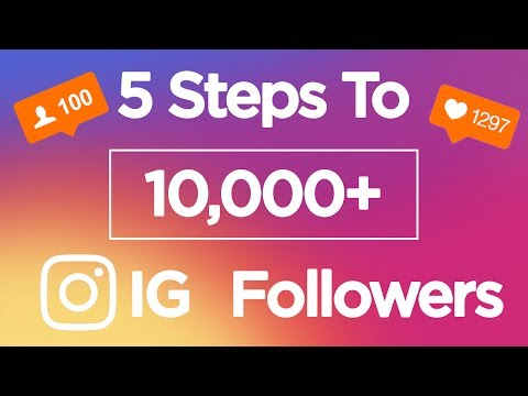 Get More Followers on Instagram in 2018 | Fast 5 Step Method