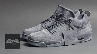 KAWS x Jordan 4 First Look ! Jordan 聯名 KAWS 鞋履實鞋開箱 │CooL SNEAKER