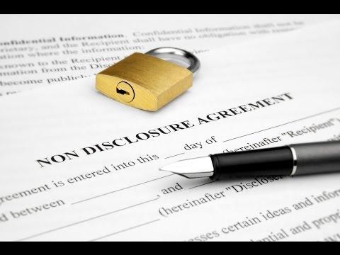 Non-Disclosure Agreements -- Entrepreneur Tip