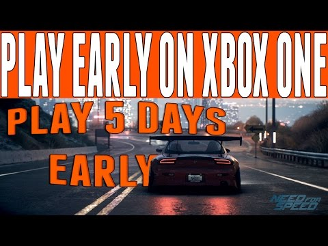 Need For Speed 2015 Early Access : How to Play NFS Reboot 5 Days Early!