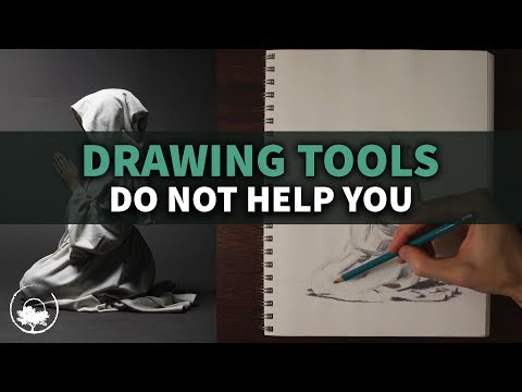 Drawing Tools Do NOT Help You Improve Your Skill + Time Lapse
