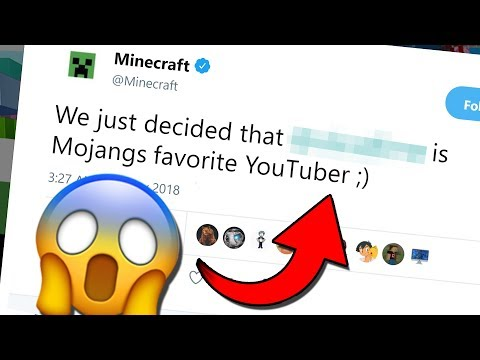 Minecraft's FAVORITE YOUTUBER is... (Minecraft News Update)