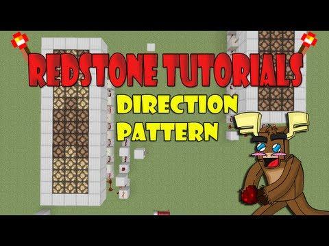 Redstone Lamp Direction Pattern Tutorial (Minecraft Xbox 360)