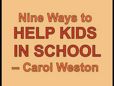 Help Your Child in School