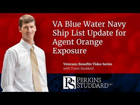 VA Blue Water Navy Ship List Update for Agent Orange Exposure