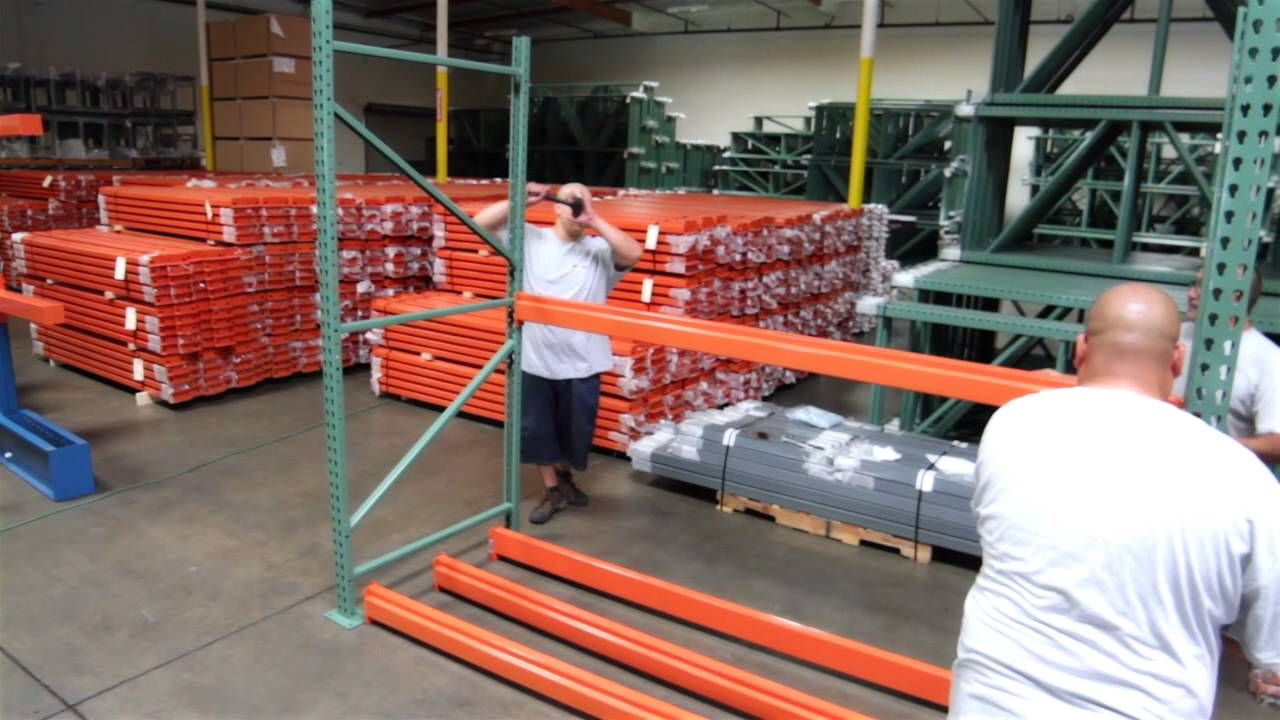 How to Assemble Your Pallet Rack Shelving