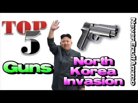 Top 5 Guns for North Korean Invasion!