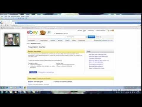 Как открыть диспут на eBay? Resolution Center