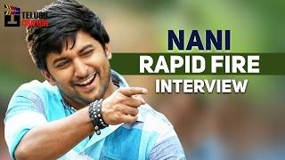 Actor Nani RAPID FIRE Interview   Nenu Local Telugu Movie   #NenuLocal   Telugu Cinema