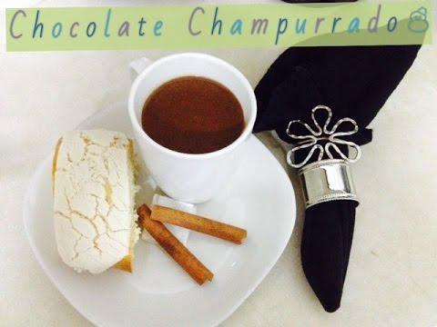 Vegan thick hot chocolate / Champurrado