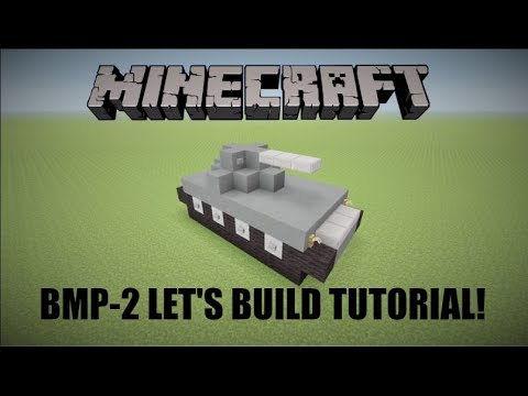 Let's Build a BMP-2! - Minecraft Tutorial