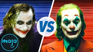 Best Joker: Heath Ledger vs. Joaquin Phoenix
