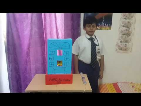 Science working model for class 3