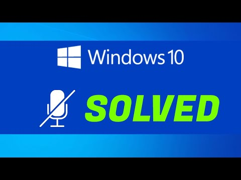 Windows 10 Microphone Problem 100% Fixed For Laptops || HP LAPTOPS ||