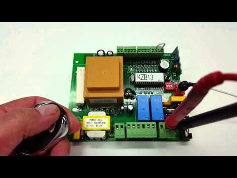 How to program the ALEKO 4 button gate remote LM-123