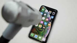 How Durable is the iPhone XS Max? Hammer & Knife Test!