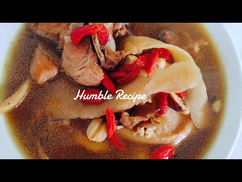 CHINESE HERBAL PORK RIBS SOUP