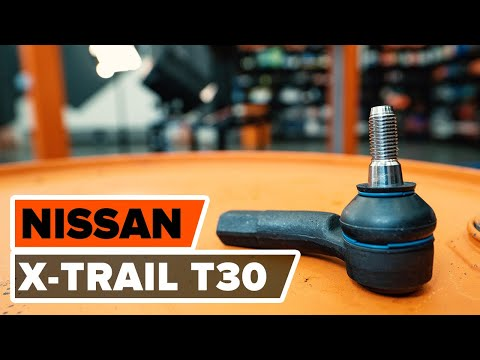 How to replace a track rod end on NISSAN X-TRAIL T 30 TUTORIAL | AUTODOC