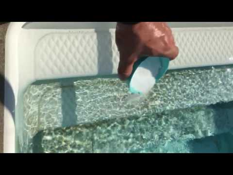 Removing Pool Stains By Bosh Chemical Vanish Pool Stain Remover