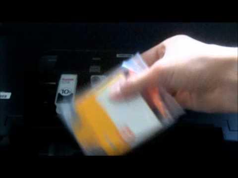 How to install KODAK printer ink cartridges