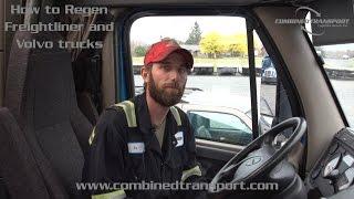 Freightliner Cascadia DD15 engine regeneration problem fuel