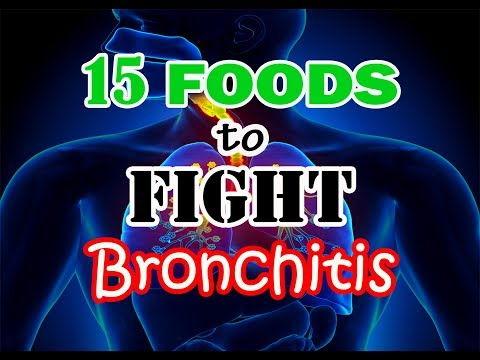 15 FOODS TO FIGHT BRONCHITIS