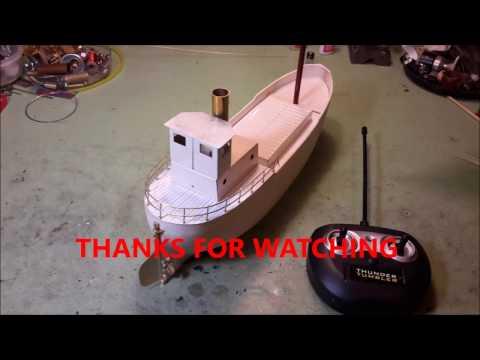 BUILDING A MINIATURE MODEL CLYDE PUFFER STEAM BOAT, Part 2