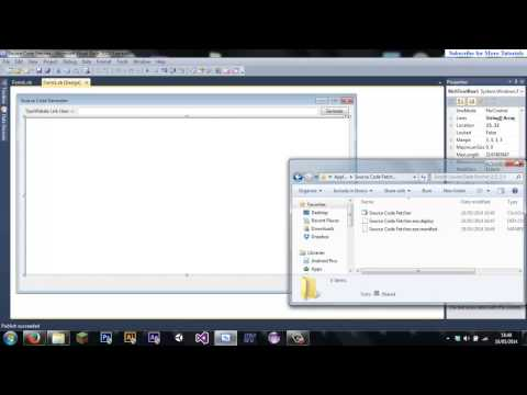 Visual Basic #2: How to Find The .exe File for your program in Visual Basic