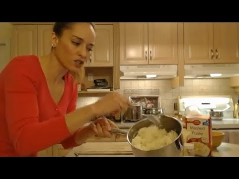 How to Cook Instant Garlic Mashed Potatoes: Cooking with Kimberly