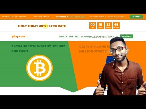 How to Exchange Bitcoin to Paypal USD for Cash | changevisor.com | 100 Ways to Exchange