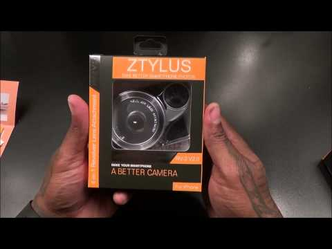 ZTYLUS Metal Smartphone Case and RV-2 Revolver 4-In-1 Lens Attachment for Apple iPhone 6