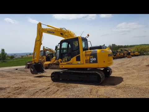 2008 Komatsu PC130-8 LC Hydraulic Excavator For Sale Running and Operating Video!