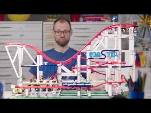 LEGO Roller Coaster Designer Video | LEGO Creator Expert | 10261