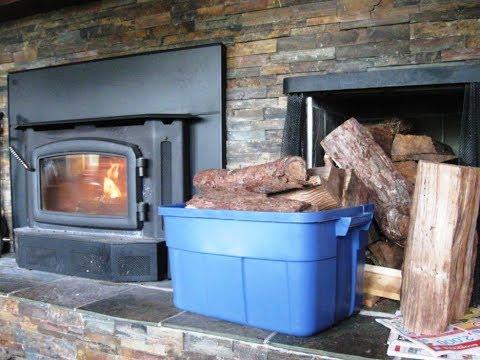Charming Indoor Firewood Storage Ideas