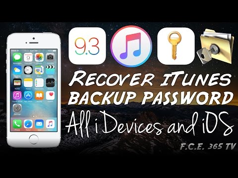 How to Recover iTunes Backup Password | All iOS Versions | All iPhone