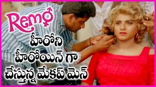 Sivakarthikeyan Makeup Video In Remo Movie | Transformation To Women | Keerthi Suresh